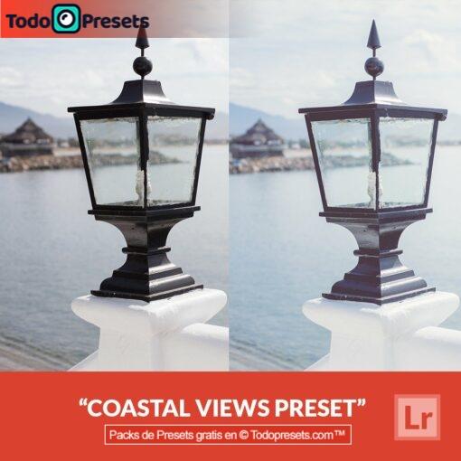 Vistas costeras Preset de Lightroom gratis