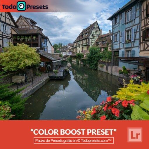 Mejora de color Preset de Lightroom gratis