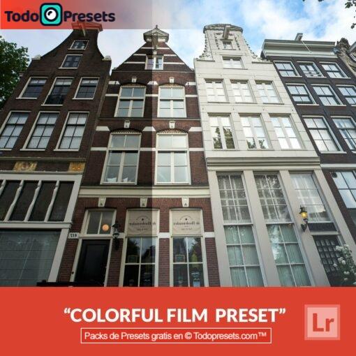 Película colorida predeterminada de Lightroom gratis