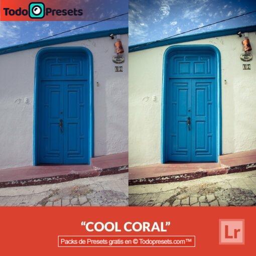 Coral fresco Preset de Lightroom gratis