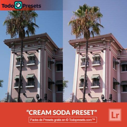 Soda en crema Lightroom Preset gratis