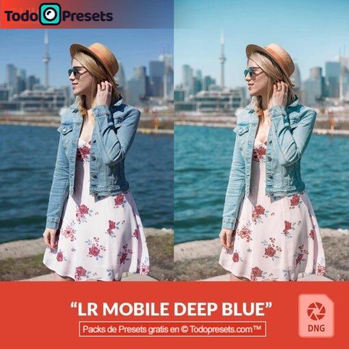 Preset DNG gratis Deep Blue