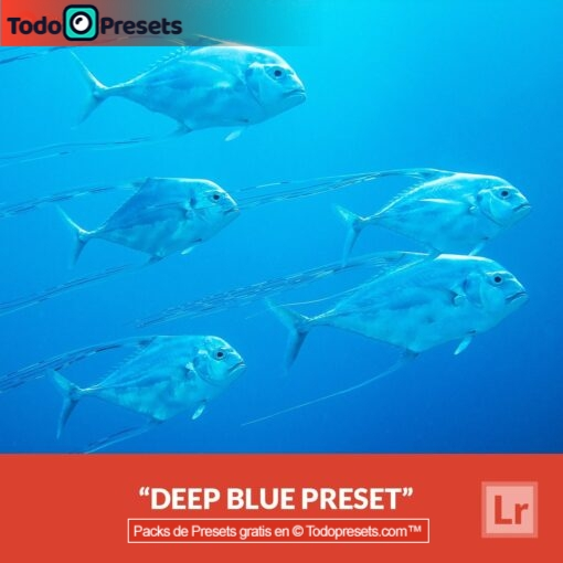 Lightroom Preset gratis Deep Blue