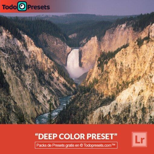 Color profundo Preset de Lightroom gratis