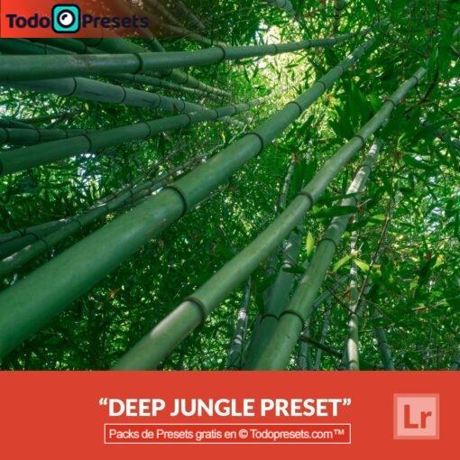 Lightroom Preset gratis Deep Jungle