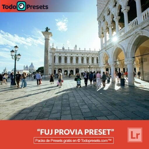 Lightroom Preset FUJ Provia