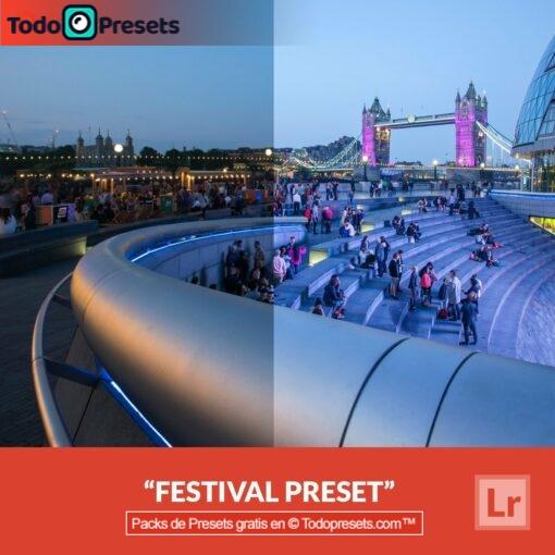 Festival de presets de Lightroom gratis