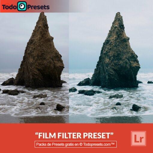 Filtro de película Preset de Lightroom gratis