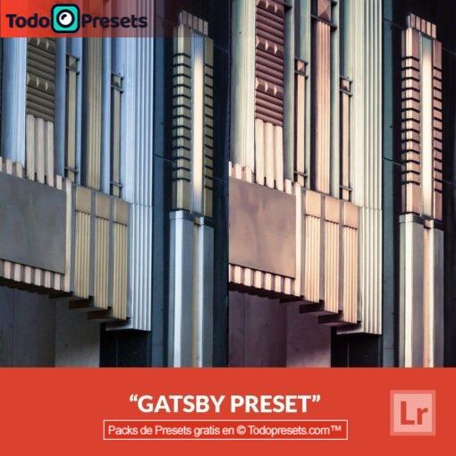 Lightroom Preset Gatsby