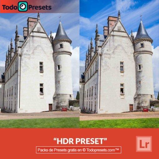 HDR predefinido de Lightroom gratis