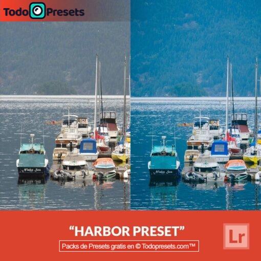 Puerto Preset de Lightroom gratis