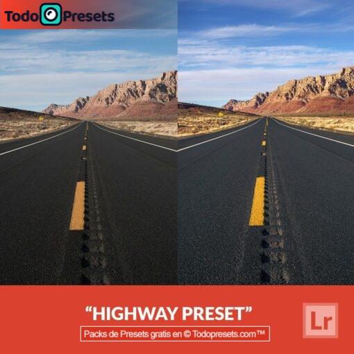 Autopista predeterminada de Lightroom gratis