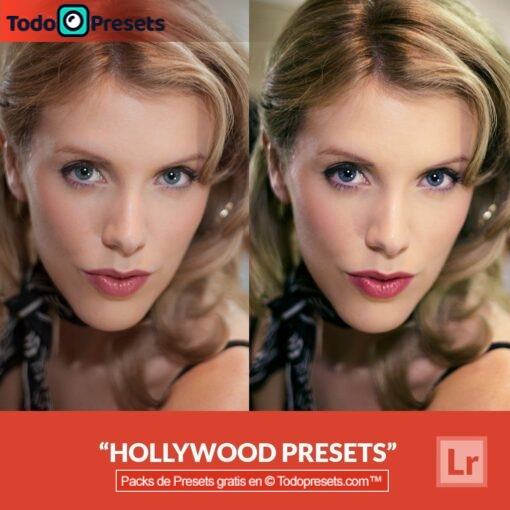 Lightroom Preset Hollywood gratis