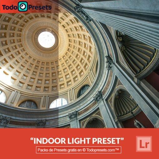 Luz interior Preset de Lightroom gratis