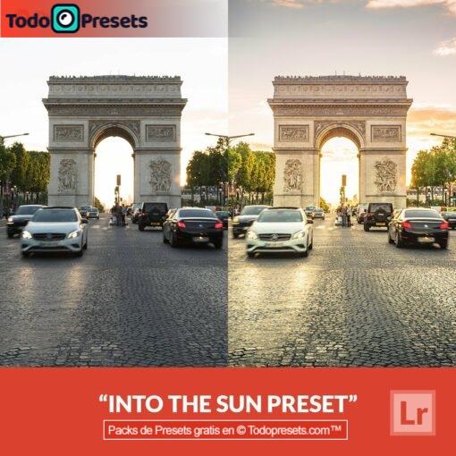 Preset de Lightroom gratis en el sol