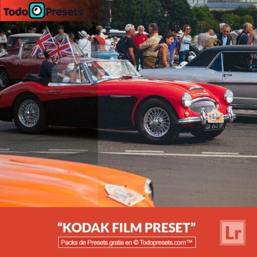 Película Kodak predeterminada de Lightroom gratis