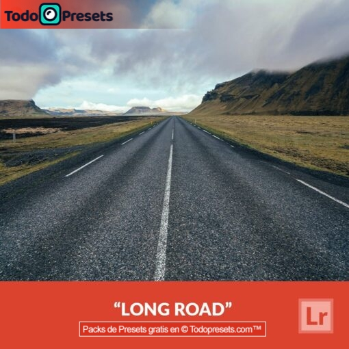 Lightroom Preset Long Road gratis