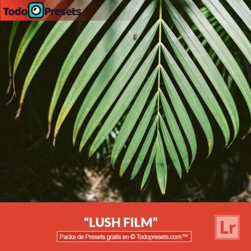 Película exuberante predefinida de Lightroom gratis
