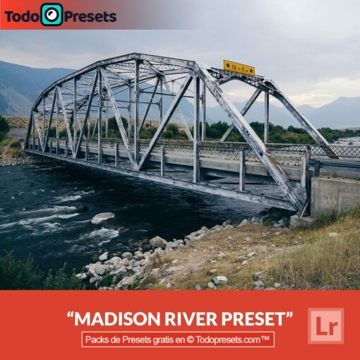 Lightroom Preset gratis Madison River