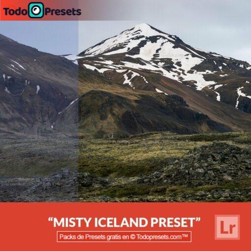 Lightroom Preset gratis Misty Iceland