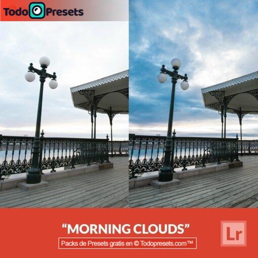 Nubes matutinas Preset de Lightroom gratis