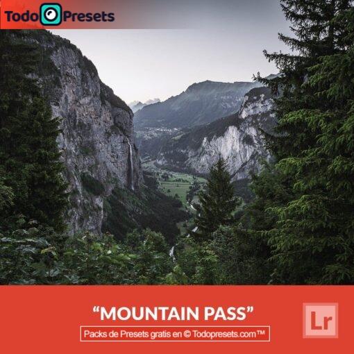 Pase de montaña Preset de Lightroom gratis