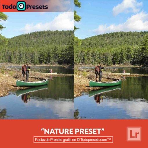 Naturaleza Preset de Lightroom gratis
