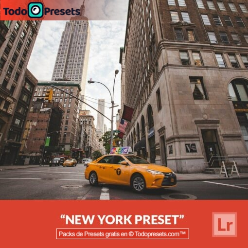 Lightroom Preset Nueva York