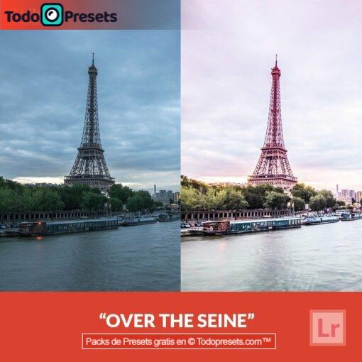 Preset de Lightroom gratis sobre el Sena