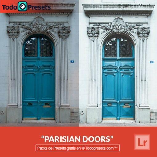 Puertas parisinas Presets de Lightroom gratis