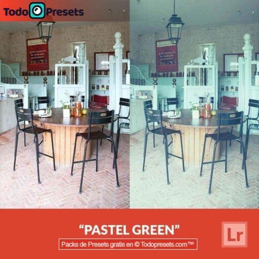 Verde pastel Preset de Lightroom gratis