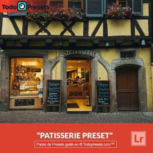 Pastelería gratis de Lightroom Preset