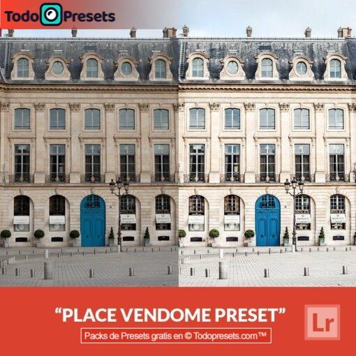 Lightroom Preset Place Vendome