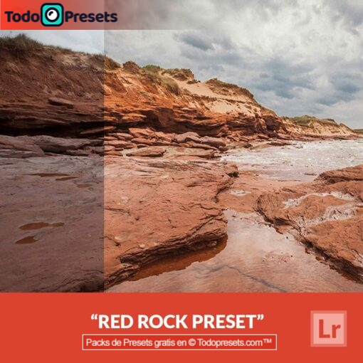 Lightroom Preset Red Rock