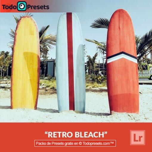 Bleach retro Preset de Lightroom gratis
