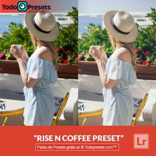 Lightroom Preset Rise n Coffee