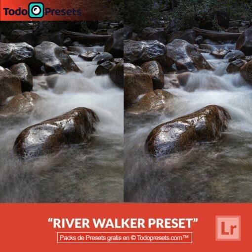 River Walker Preset de Lightroom gratis