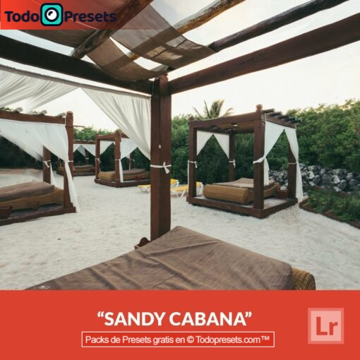 Lightroom Preset Sandy Cabana