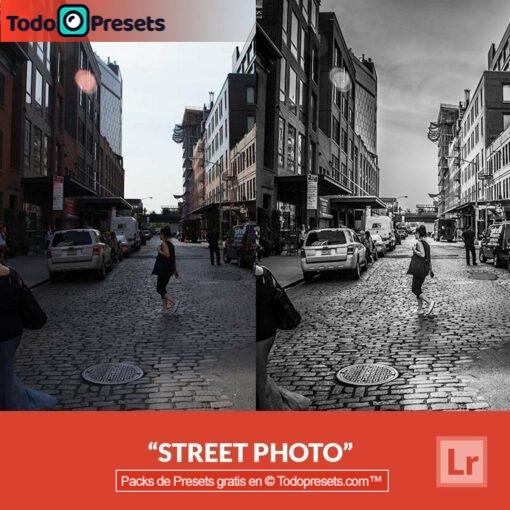 Foto de calle Preset de Lightroom gratis