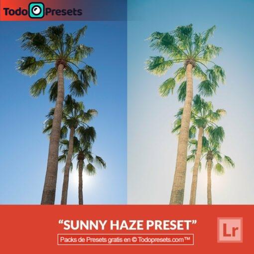 Sunny Haze Preset de Lightroom gratis