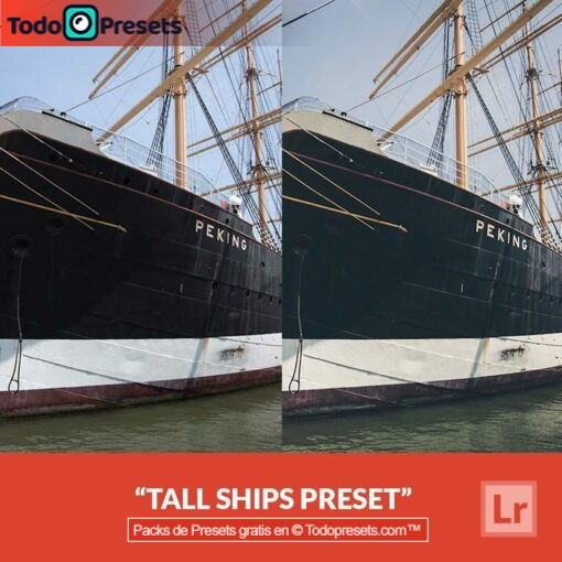 Barcos altos Presets de Lightroom gratis