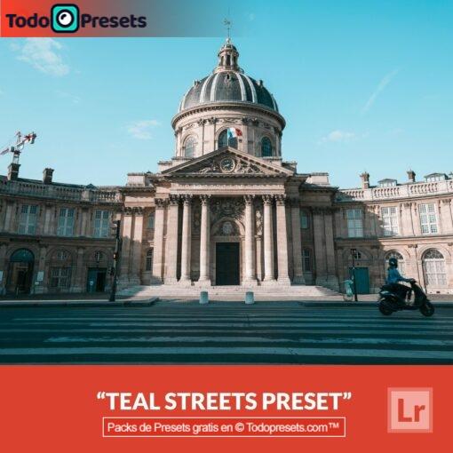 Calles verde azulado Presets de Lightroom gratis