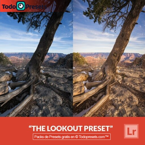 Preset gratis de Lightroom The Lookout