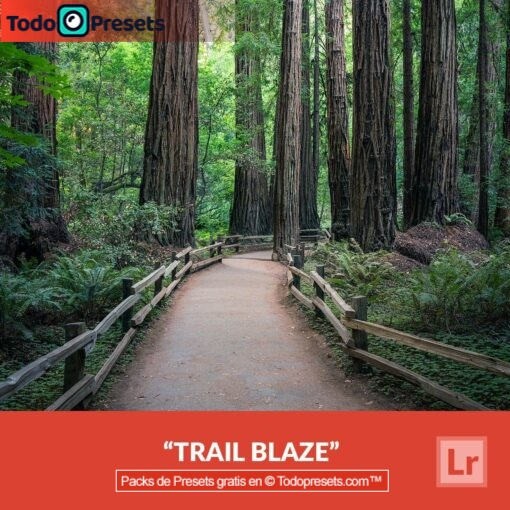 Lightroom Preset gratis Trail Blaze