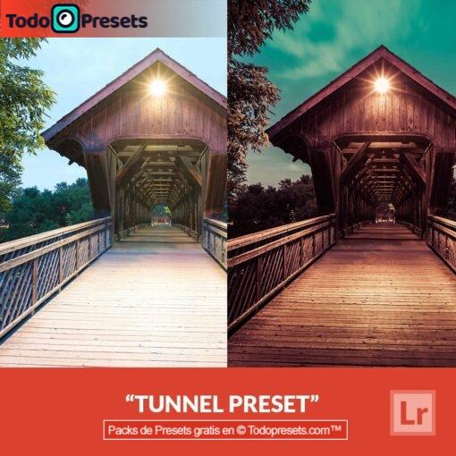 Túnel Preset de Lightroom gratis