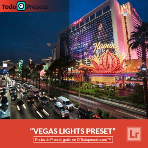 Luces Vegas Presets de Lightroom gratis