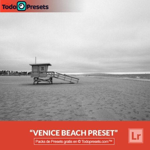 Lightroom Preset gratis Venice Beach