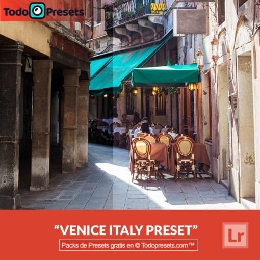 Lightroom Preset Venecia Italia