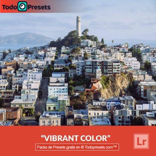 Colores vibrantes Presets de Lightroom gratis