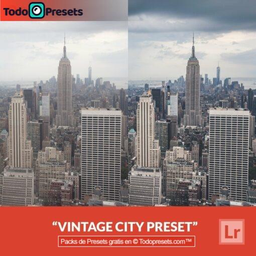 Lightroom Preset Vintage City